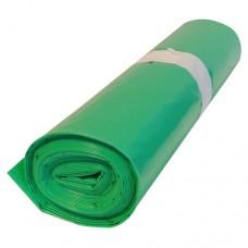 Кашон с 250 полиетиленови чувала (120 литра, зелени, дебелина 50 микрона)