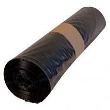 Кашон с 250 полиетиленови чувала (120 литра, черни, дебелина 50 микрона)