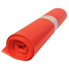 Кашон с 250 полиетиленови чувала (120 литра, червени, дебелина 50 микрона)
