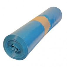 Кашон с 25 полиетиленови чувала (120 литра, сини, дебелина 200 микрона)
