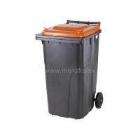 120-литров пластмасов контейнер Tetra Pack (жълт)