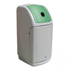 140-литров пластмасов сив контейнер Nexus с зелен капак