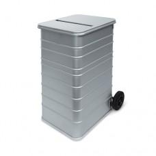 240-литров метален контейнер за конфиденциални документи за унищожаване