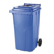240-литров пластмасов контейнер с процеп за хартия