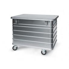 415-литров метален контейнер за конфиденциални документи за унищожаване