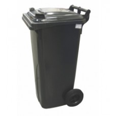 120-литров пластмасов контейнер (черен)