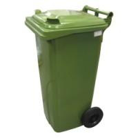 120-литров пластмасов контейнер (зелен)