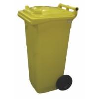 120-литров пластмасов контейнер (жълт)