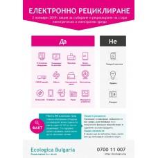 Постер за електронни отпадъци